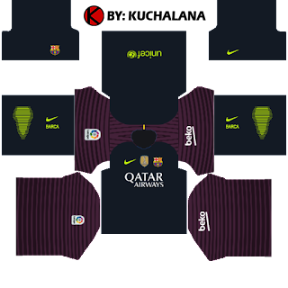 Barcelona Kits 2016/2017 - Dream League Soccer 2015