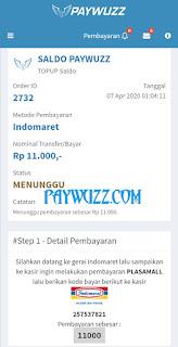 Paywuzz pulsa online murah