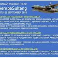 Inilah Jadwal Dukungan Pesawat TNI AU  #GempaSulteng, 29 September 2018