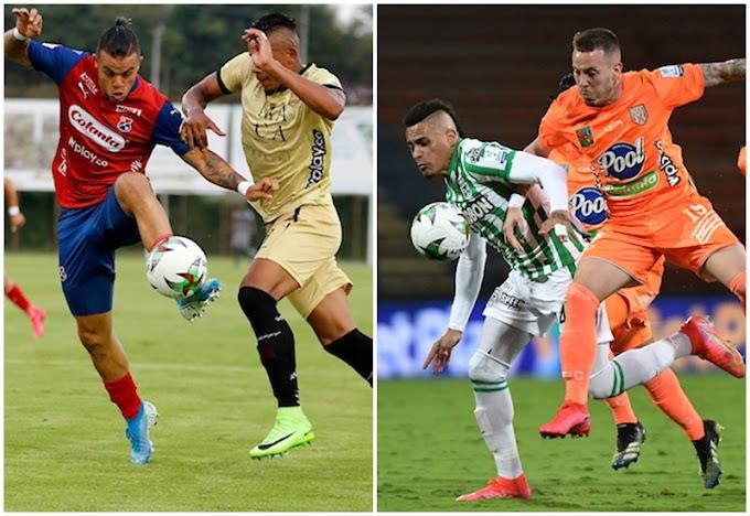 Lista la primera fecha de la Liga BetPlay 2 2021, así quedó definido el estreno de Independiente Medellín...¿Jugará Atlético Nacional?