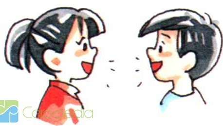 Animasi 2 Orang Berbicara