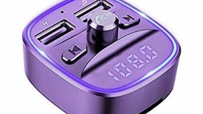 Comsoon Bluetooth FM Transmitter Radio Car Receiver Adapter