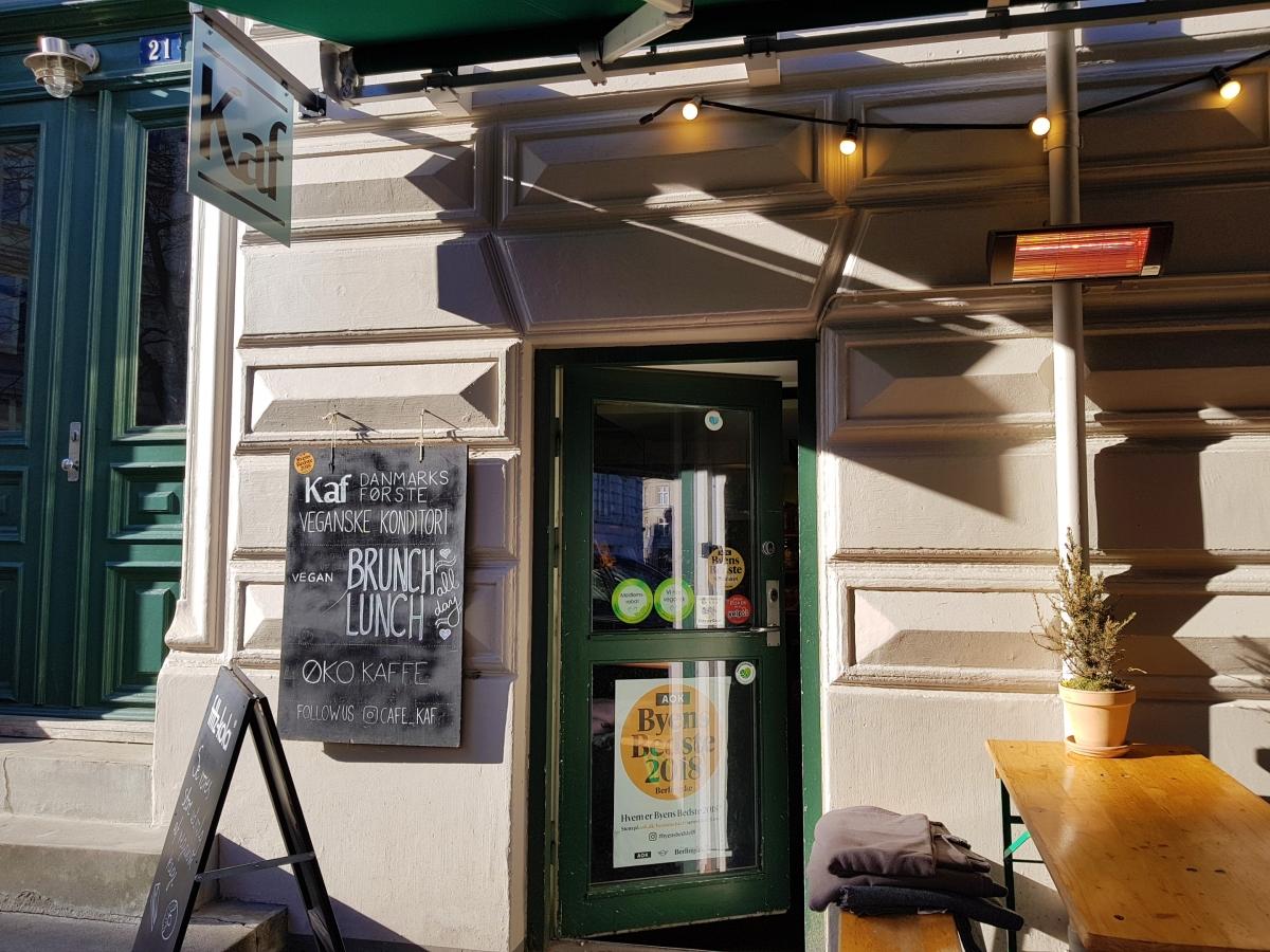 Kaf Vegan Pastry  Shop in Copenhagen - Best vegan places in Copenhagen - Food Guide