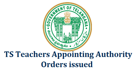 TS Teachers Appointing Authority GO Rt 40 Orders Issued  School Education Department – The Telangana State Direct Recruitment for the posts of Teachers Rules, 2017–Designation of the Appointing Authority – Notification- Orders – Issued. ts-teachers-appointing-authority-go-rt-40-telangana
