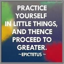 Practice Sayings