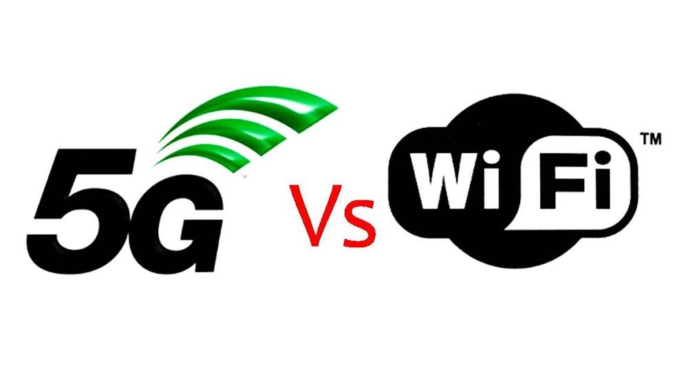koneksi internet 5g versus wifi