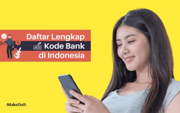 Daftar Kode Bank Terlengkap di Indonesia