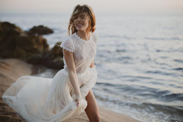 Nueva colección de vestidos de novia TERRA I MAR by Immaclé