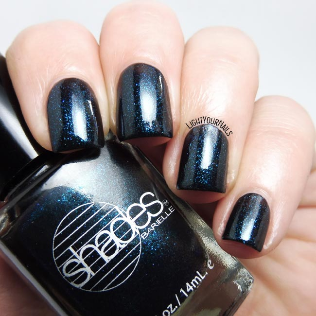 Smalto Barielle Shades Blackened Bleu nail polish