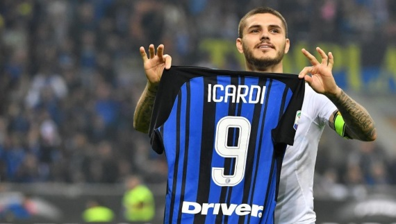 Inter Milan are in second place and remain unbeaten with seven wins from eight matches
