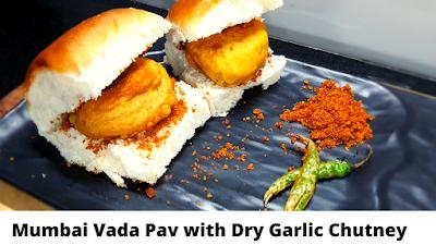 Mumbai Vada Pav with Dry Garlic Chutney Batata Vada | Asha and Anita मुंबई के वडा पाव की रेसिपी