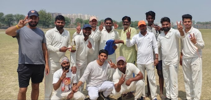 यलो टाइगर व आदर्श भारतीय जूनियर ने जीता लीग मैच