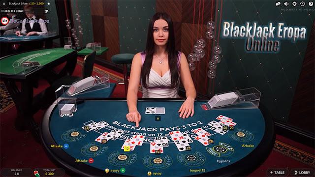 Blackjack Eropa Online