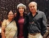 plabita borthakur with her parents
