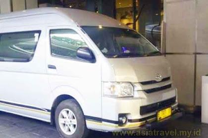Harga Sewa Hiace Luxury Jakarta terbaru