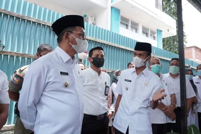 Tinjau RSUD , Bupati dan Wakil Bupati Solsel Minta Direktur Lakukan Inovasi Pelayanan    dutametro