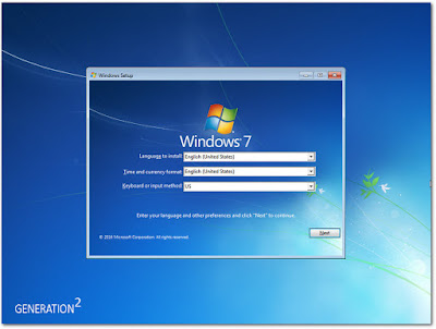 Tampilan Windows 7