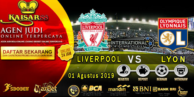 Prediksi Bola Terpercaya Liga Friendlies Liverpool Vs Lyon 01 Agustus 2019