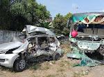 Polisi Beber Penyebab Tabrakan Avanza Vs Bus Intra di Jalan Lintas Tebingtinggi-Siantar