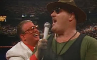 WWF / WWE - SUMMERSLAM 1990: Sgt. Slaughter was a guest on the brother love show
