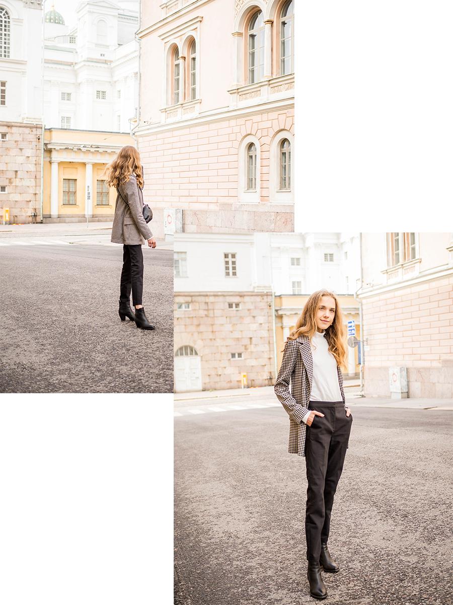 Inspiraatiota syksyn työpukeutumiseen - Work outfit inspiration for autumn