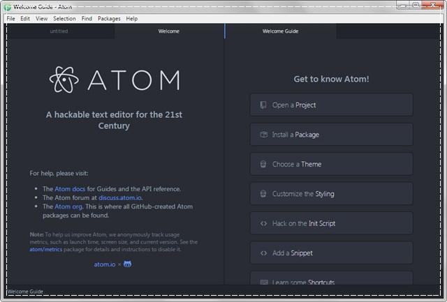 Atom Text Editor Download Grátis