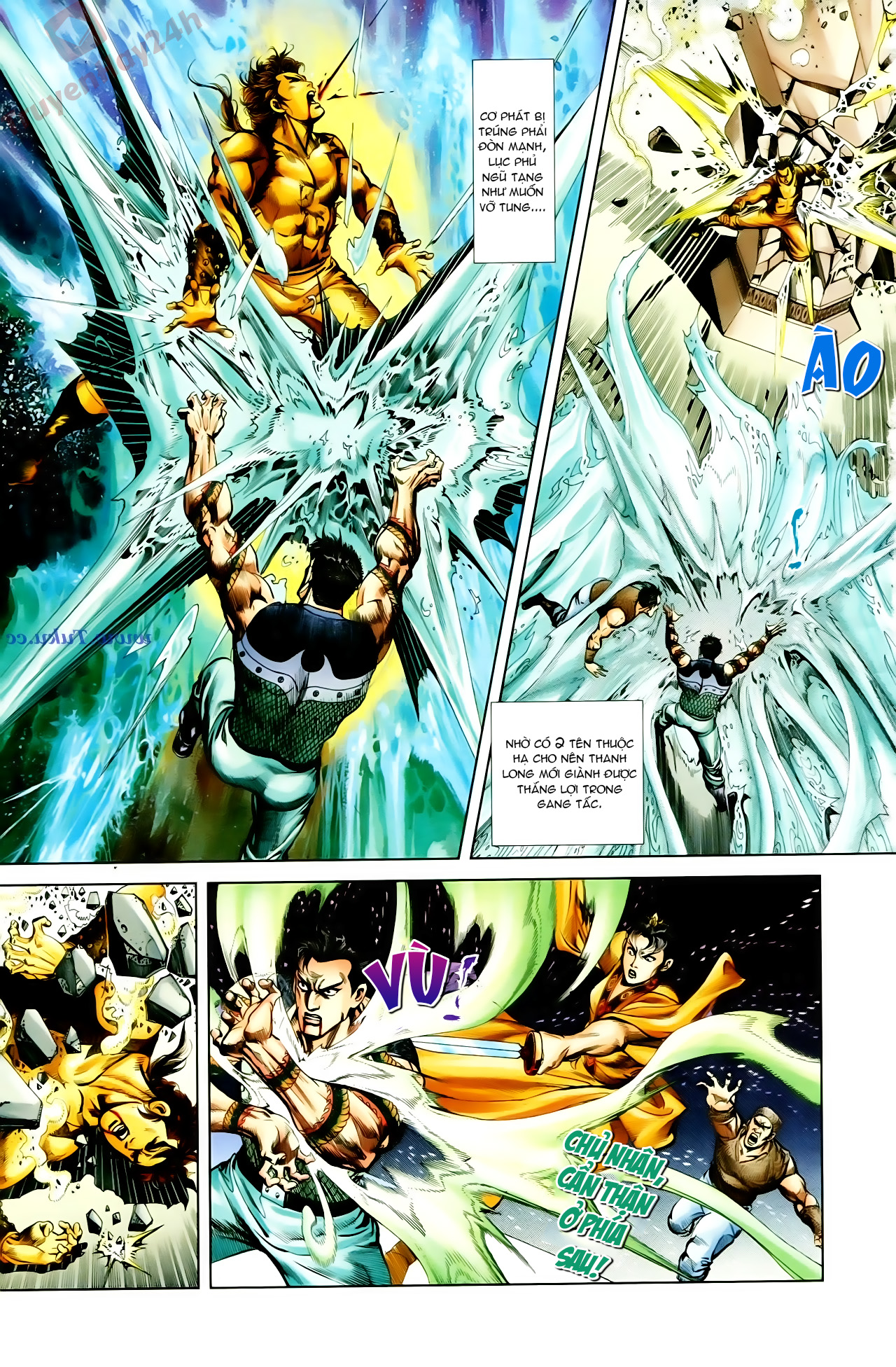 Cơ Phát Khai Chu Bản chapter 66 trang 12