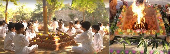 No-Violence in Yajna ( Fire Rituals )