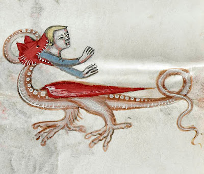 Illumination from Anjou Bible c. 1340