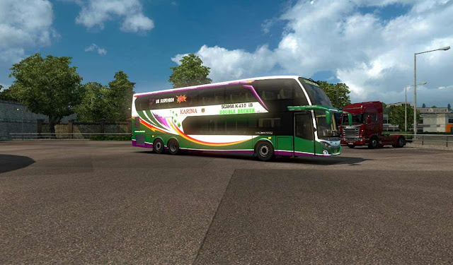 Bus Mod ets2 indonesia  jetbus 3 shd