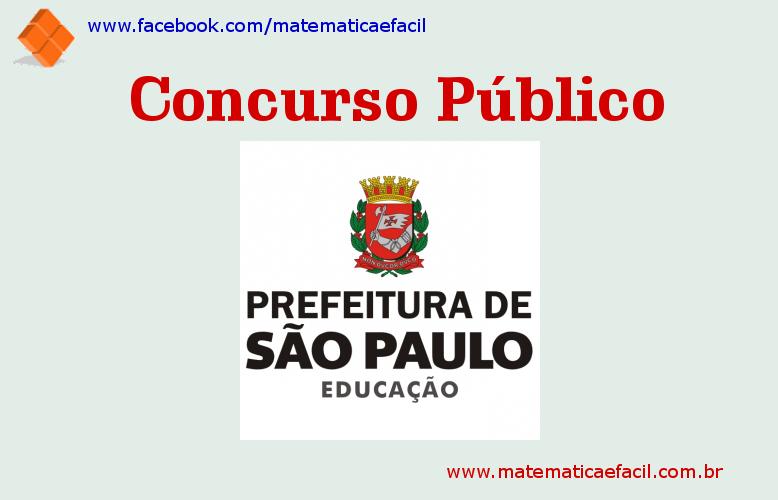 Concurso público para Auxiliar Técnico de Educação na Prefeitura de SP