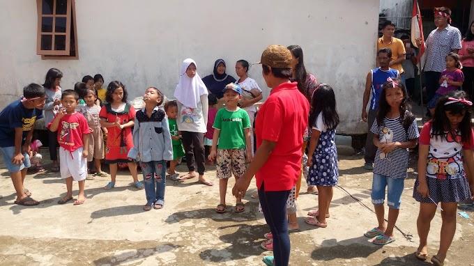 Serunya Lomba 17 Agustusan  di Kampungku dengan Permainan Anak