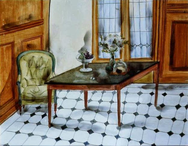 María Teresa Berrios artista boliviana salón