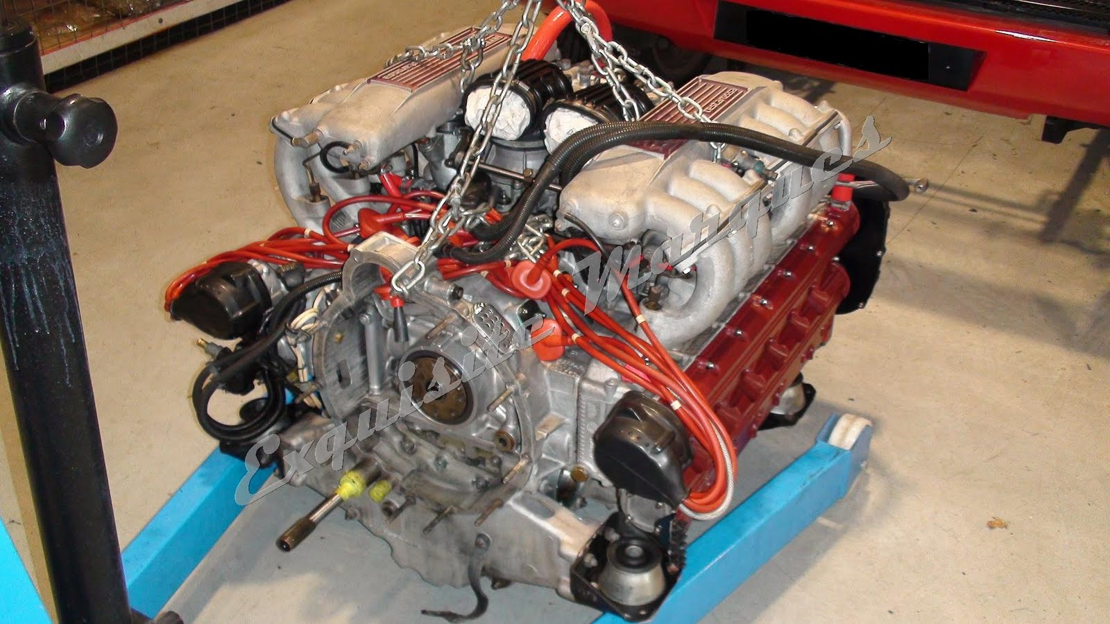 BMW Steering Wheel Cover >> Exquisite Marques: Ferrari Testarossa Engine Work