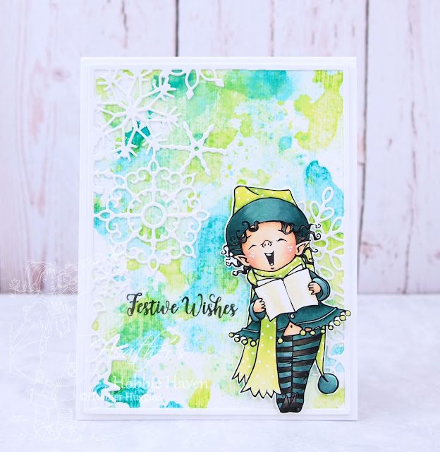 Heather's Hobbie Haven - Singing Elf Brynn Card