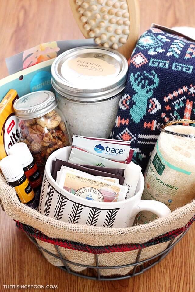 DIY Self Care Gift Basket Ideas