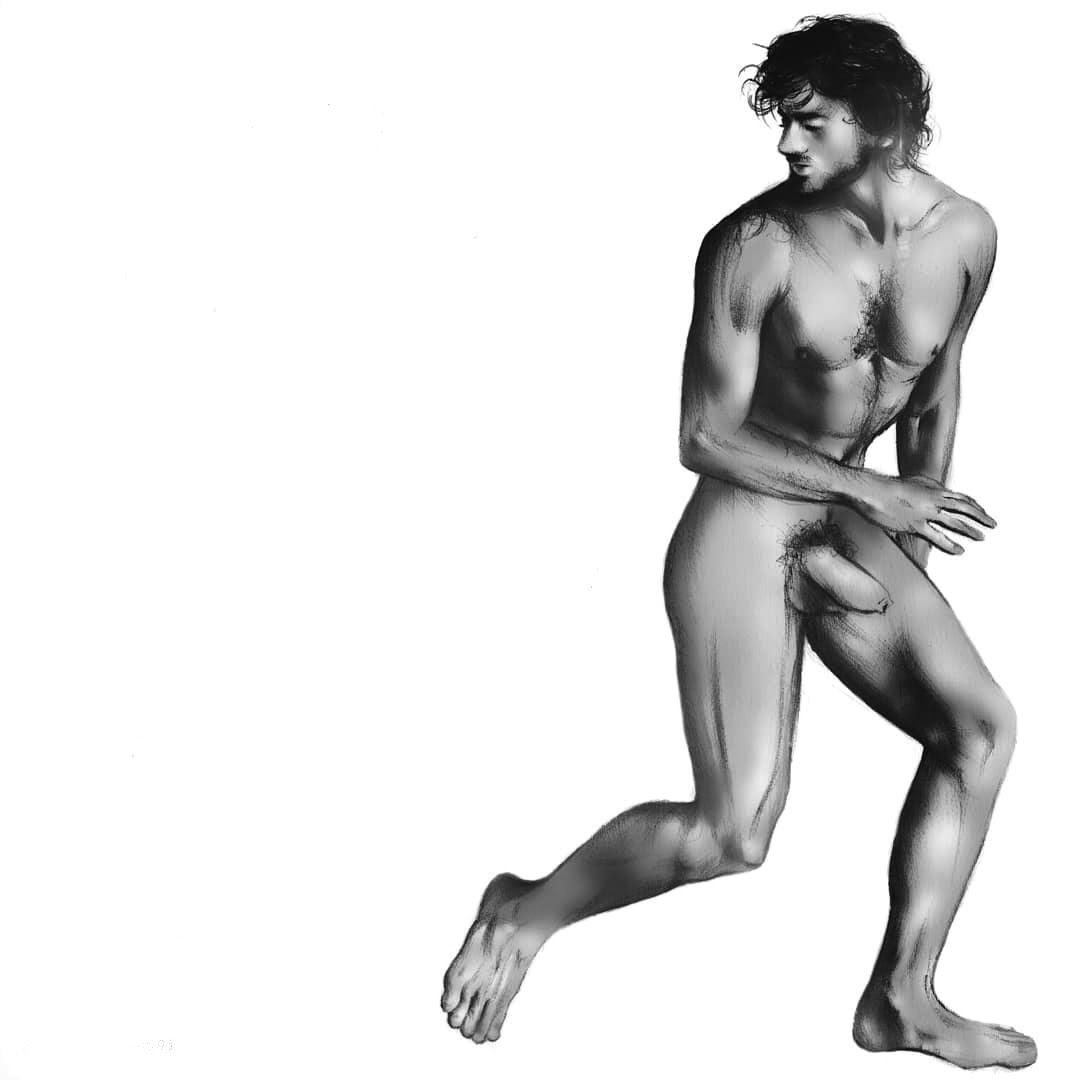 Lets pretend that I moved on [...] I run AwaY, I run AwaY, I run AwaY, by Francesco Brunetti (NSFW).