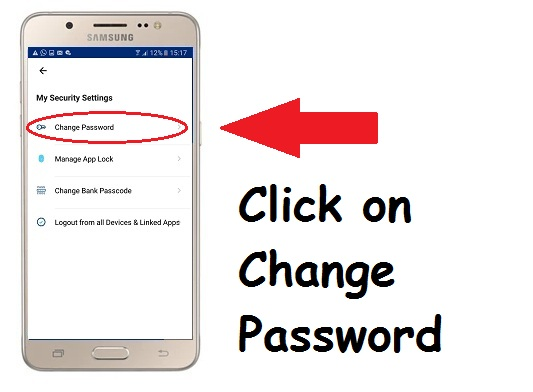 How to change or Reset your PayTm Password