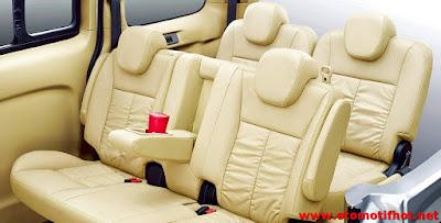Info Interior mobil Nissan Evalia