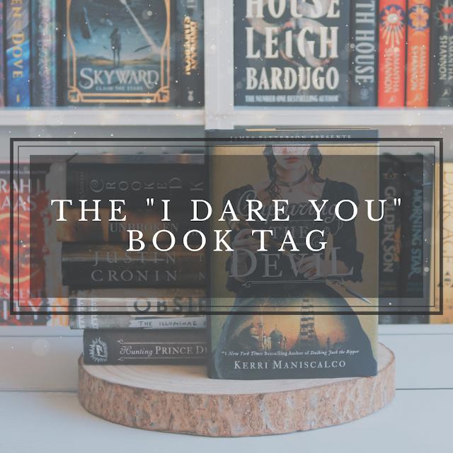 The I Dare You Book Tag