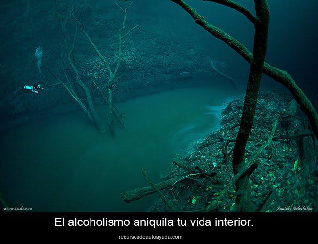 El problema del alcoholismo.