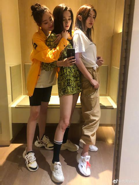 Dai Si Maggie Huang Zhu Xudan friends