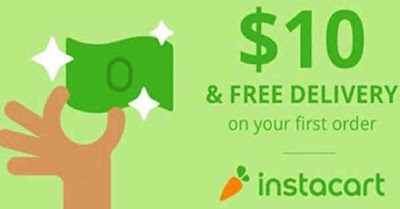 Instacart promo code $35 save your money today at Instacart.com
