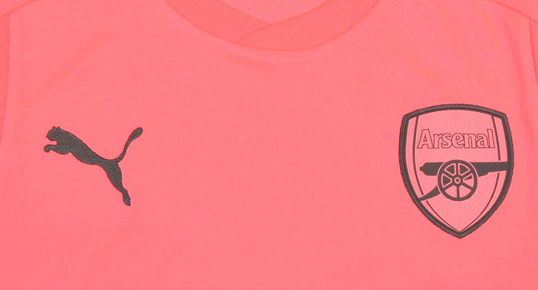 97cf8c6df Arsenal keeper Petr Čech will wear green and pink next season. The new  Arsenal 2017-2018 goalkeeper jerseys were released together with the new  home kit ...