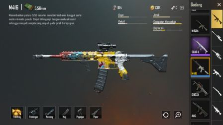 senjata paling mematikan M416