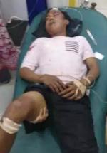 Korban kecelakaan di Batubara.