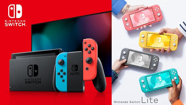 Pilih Nintendo Switch Reguler atau Lite?