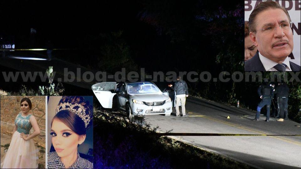Gobernador de Durango, dice que las dos jovencitas abatidas en Sinaloa tras no detenerse en un retén Policial y enfrentarse a los elementos son sus Sobrinas y llegará hasta las últimas consecuencias