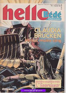 Hello-Bédé, numéro 3, 1991, Claudia Brucken