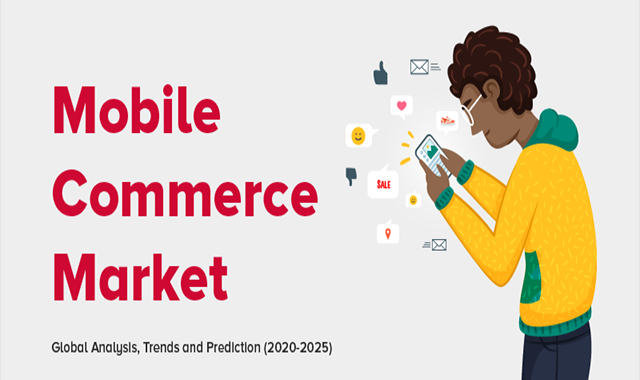 Mobile Commerce Market in 2020-2025 #infographic
